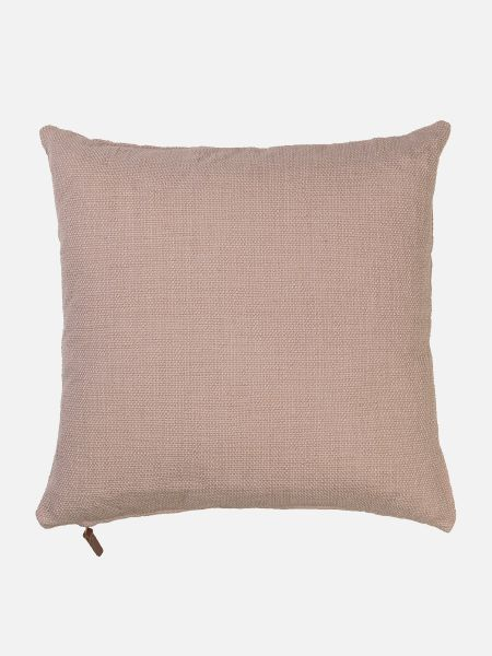 Handloomed Cotton - Zierpolster - Rosa
