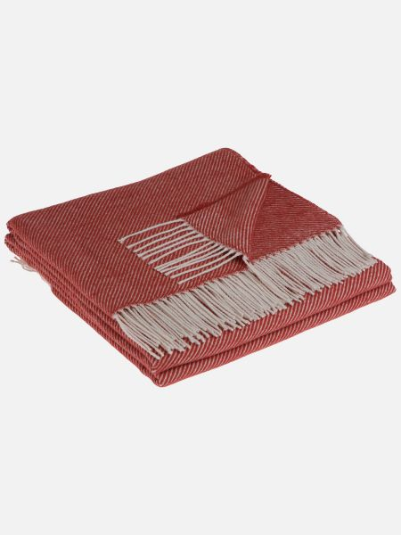 Cotton Twill - Decke - Rot