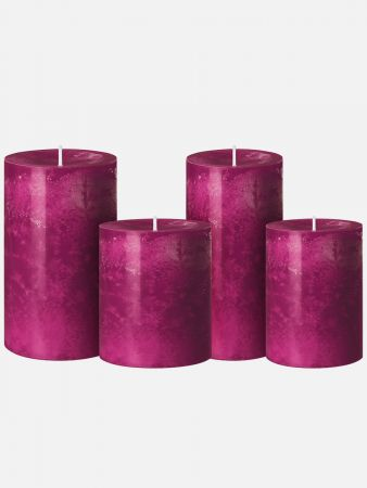 Iconic Candle - Kerze duftneutral - Weinrot