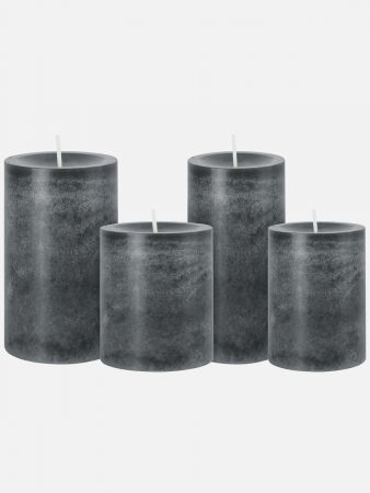 Iconic Candle - Kerze duftneutral - Anthrazit