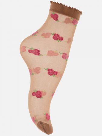 Trendy Rose - Socken - Skin-Rose