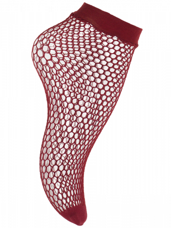 Trendy Colour Net - Socken - Beere
