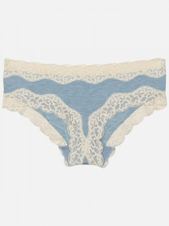 Eco Essence Duw - Panties - Hellblau-Mele