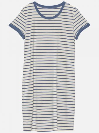 Stripy Essentials - Nachthemd - Blau-Bunt