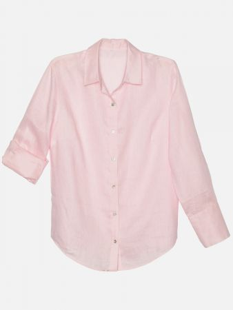 Luxxe Linen - Shirt - Rose