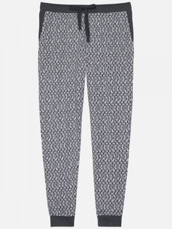 Palmers Night - Pyjama - Blau-Bunt