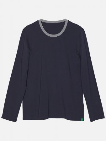 Ripple Mix - Shirt - Dunkelblau