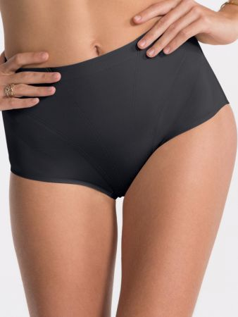 Retro Brief - Taillenslip - Schwarz
