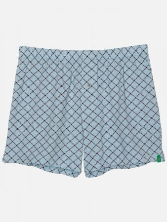 Diamond Night Huw - Boxershorts - Hellblau-Bunt