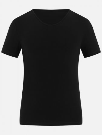 Casual Cotton - Shirt - Schwarz