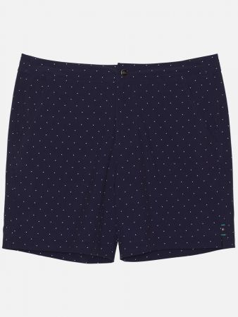 Bar Hopper - Shorts - Dunkelblau-Weiß