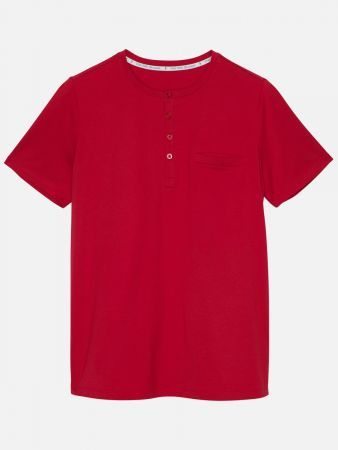 Noble Stripe Nights - Shirt - Rot