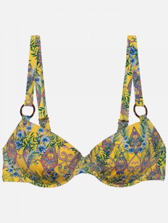 Belize Tropical - Bikini-Top - Bunt