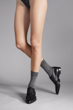 Soft Wool - Socken - Anthrazit