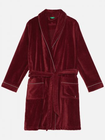 Aspen Coat Red - Bademantel - Dunkelrot