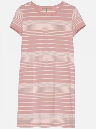 Chancy Stripe - Nachthemd - Rose-Bunt