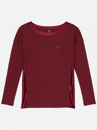Palmers Joy - Nachtwäsche Shirt - Bordeaux