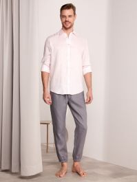 Breezy Linen - Shirt - Rose