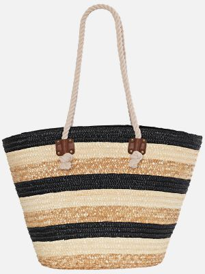 Beach Bag Stripes - Taschenaccessoire - Natur