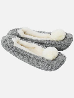Cosy Knits Slipper - Graumele