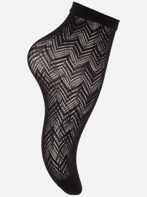 Trendy Graphic Net - Socken - Schwarz