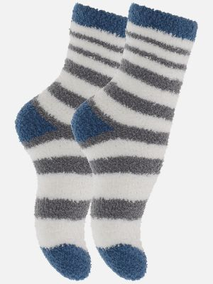 Sleep Socks - Socken - Grau-Ecrue