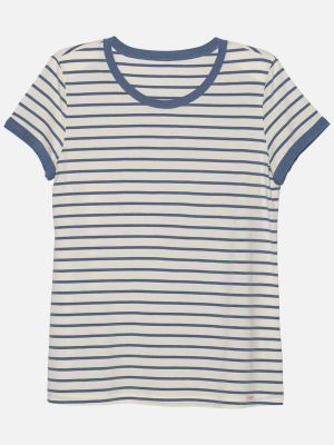 Stripy Essentials - Nachtwäsche Shirt - Blau-Bunt