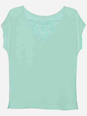 Aster Lily Nights - Nachtwäsche Shirt - Mint