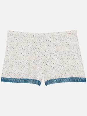 Dotty Nights - Nachtwäsche Hose - Creme-Bunt