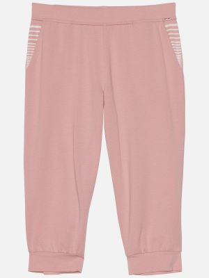 Chancy Stripe - Nachtwäsche Hose - Rose