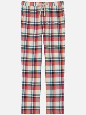 Cosy Checks - Hose - Terra-Bunt