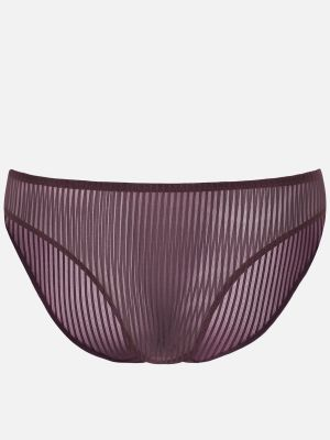 Seductive Stripes - Minislip - Plum