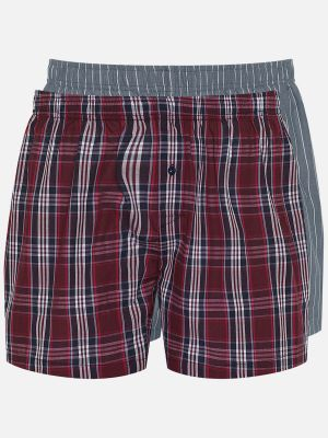 Twin Pack Boxer - Boxershorts - Rot-Bunt